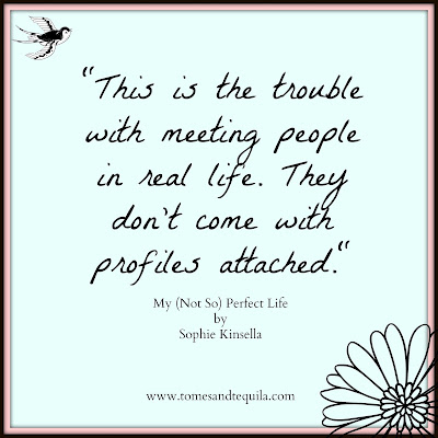 My Not So Perfect Life by Sophie Kinsella | Review by Tomes and Tequila Blog
