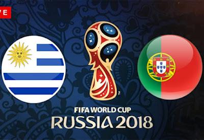 موعد عرض مباراة البرتغال واوروجواي   بتاريخ 30-06-2018 كأس العالم 2018 في روسيا