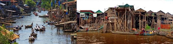 Tonlé Sap et Beng Mealea en 1 Jour
