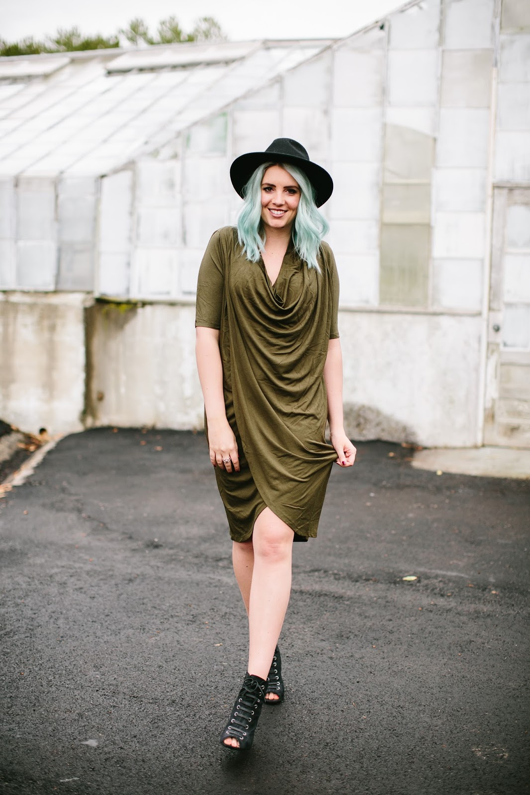 Olive Dress, Fashion Blogger, Utah Fashion Blogger