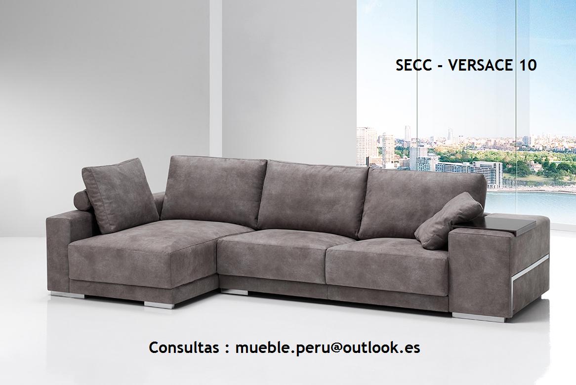 Mueble peru sakuray sofa seccional secc versace 10 - El mueble sofas ...