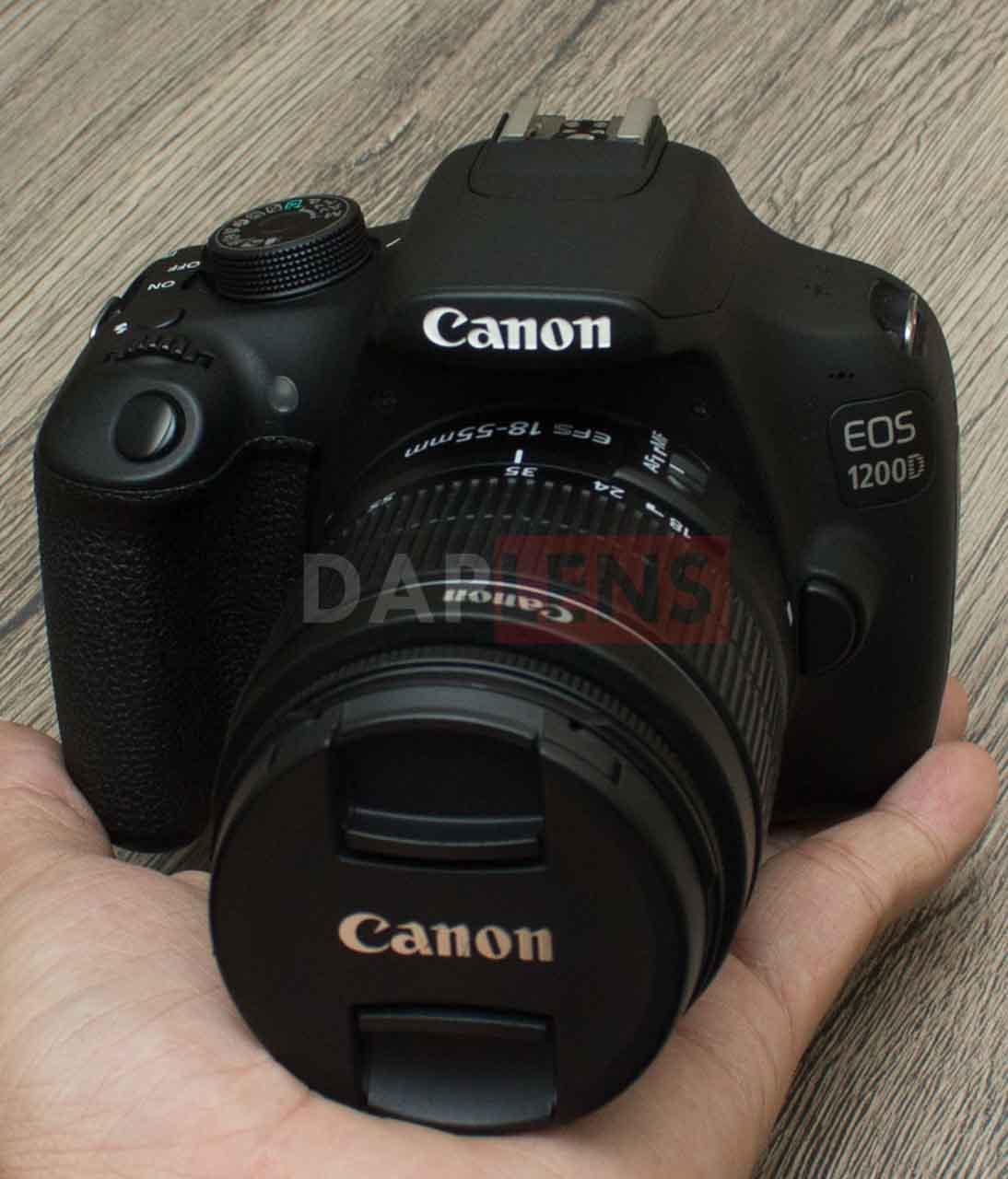 Daplens Canon Eos 1200d Kit 18 55mm Iii Mulus Bonus Tas Lensa Kamera