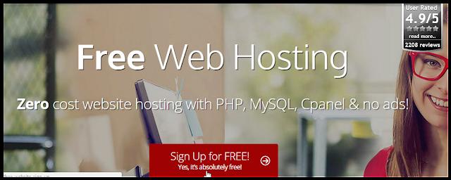 Review Singkat 000webhost - Simple dan Bagus untuk Pemula