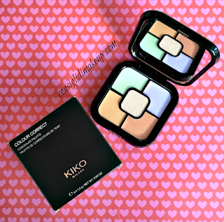 review Colour Correct Concealer Palette kiko