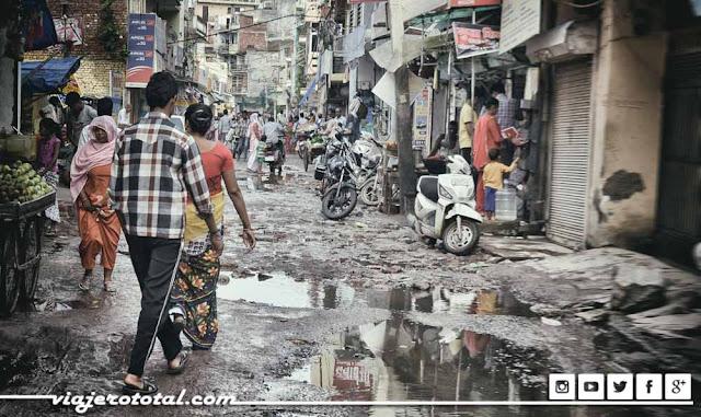 Callejeando por Nueva Delhi, India