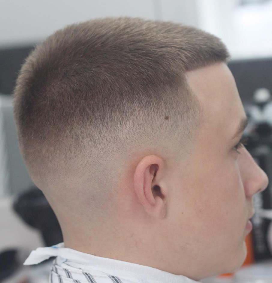 Barber Life Military Haircut Czyli Fryzura Na żołnierza