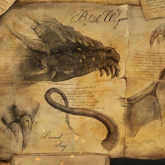 Dragon Study Wallpaper Engine