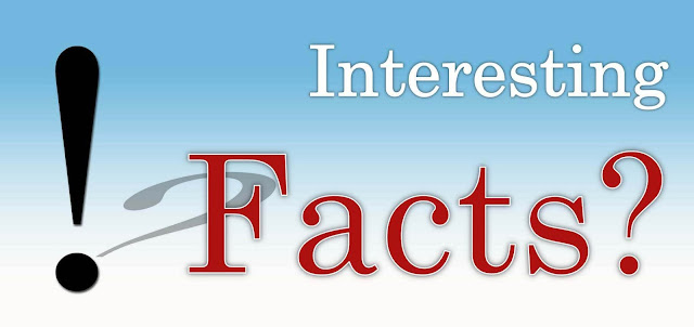 Interesting facts, Most Amazing & Interesting Facts