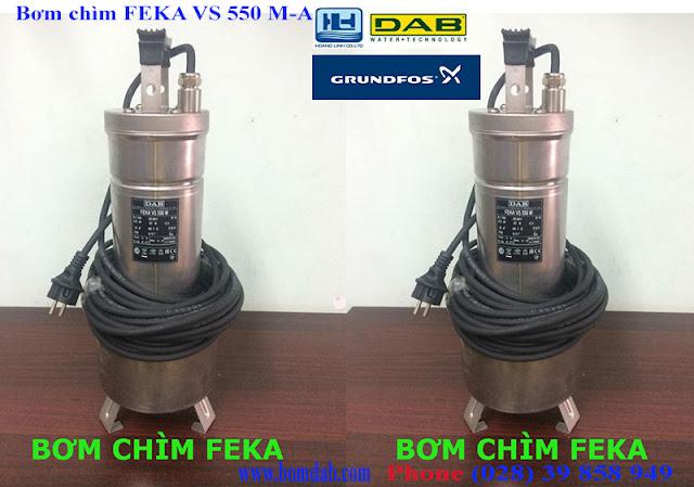 bom chim nuoc thai feka vs 550 m-a