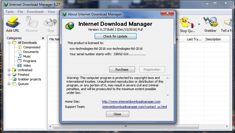 patch internet  manager all version