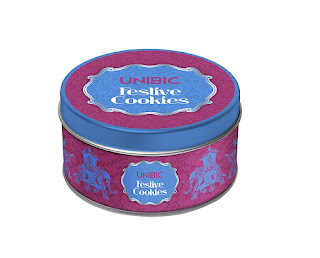 Amazon – Buy Unibic Festive Cookies Tin 150g at Rs. 99 only