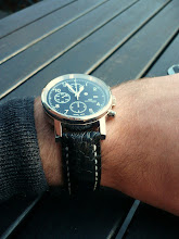 Thomas's Wakmann Chronograph on Ostrich leg