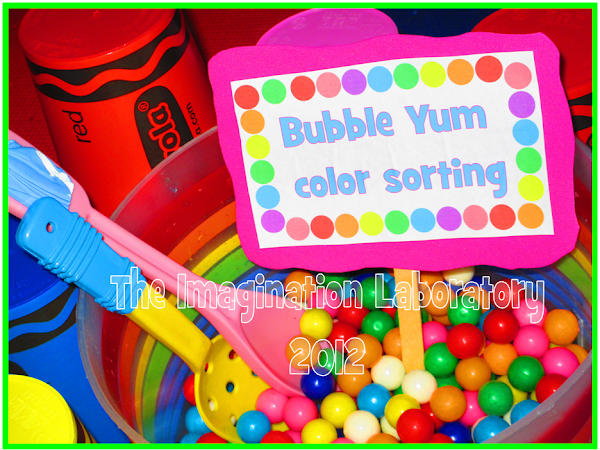 Bubble Yum ~ Sorting, Counting and Graphing
