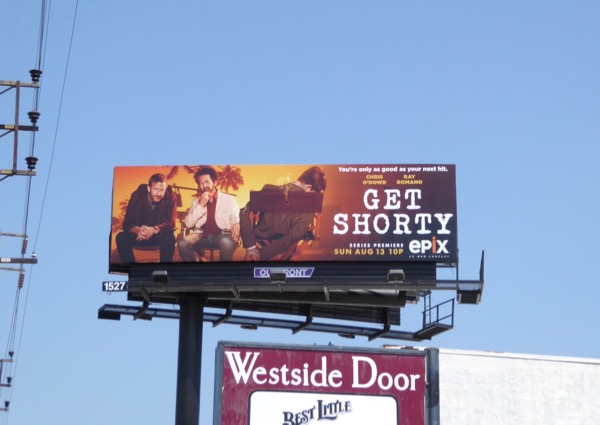 Get Shorty TV series billboard