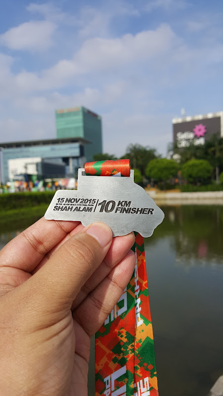 10km finisher