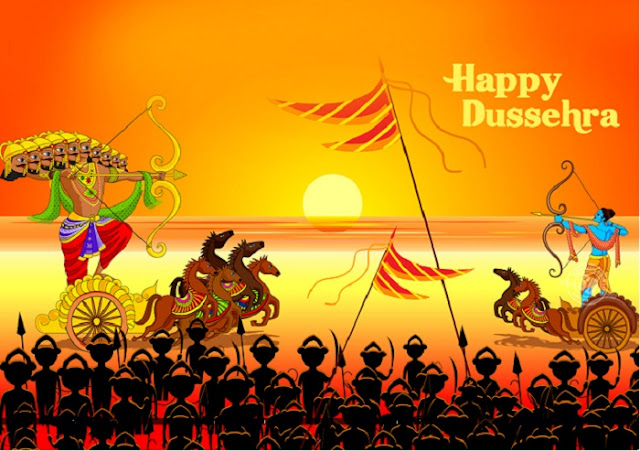 Happy Dussehra Images And Script 2019