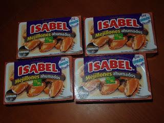 Mejillón Ahumado Isabel