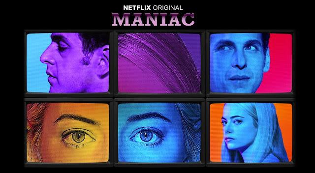Serial Maniac, od Netflix, główne role: Emma Stone, Jonah Hill