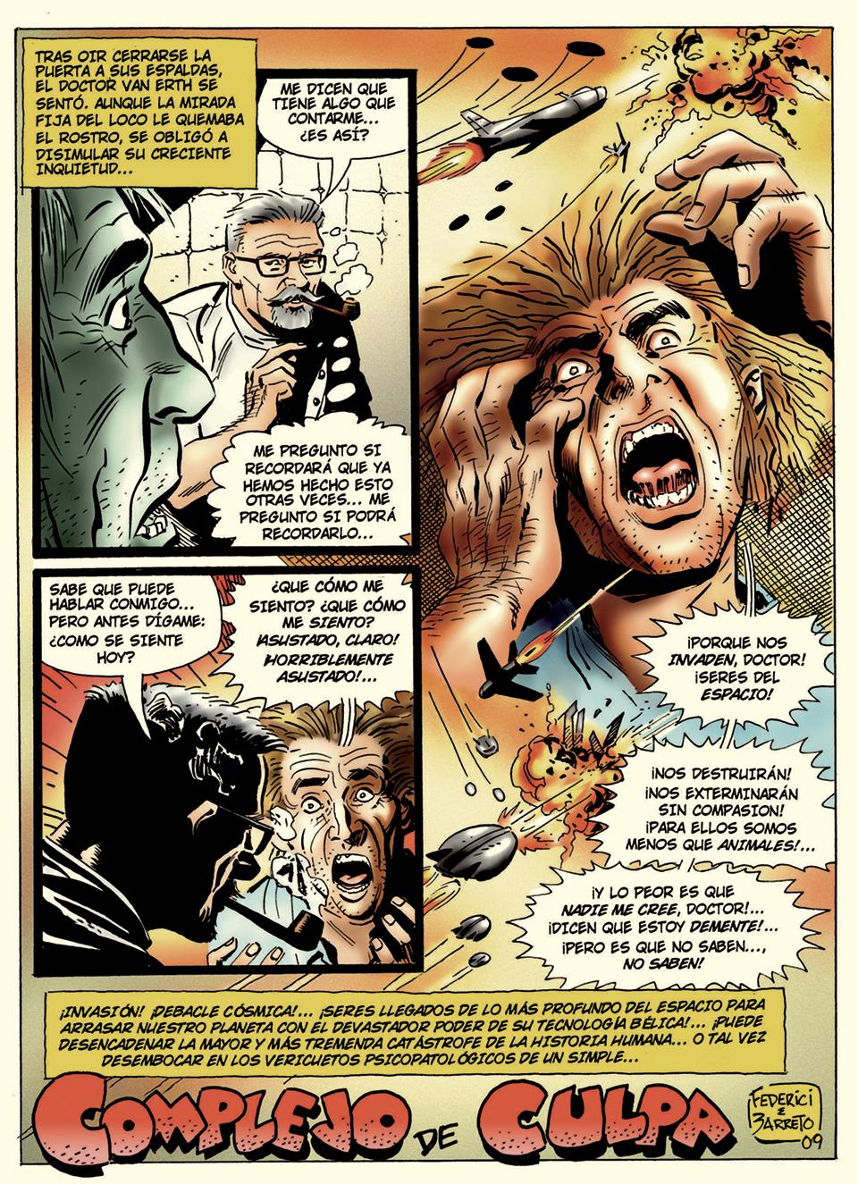Pagina 1 art by Eduardo Barreto