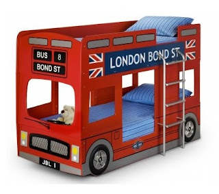 London bus bunkbed
