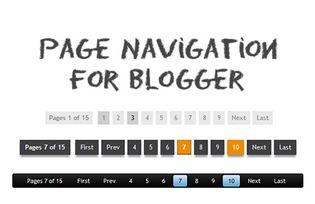 Navigasi Halaman Blog