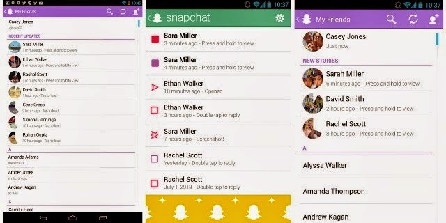 Snapchat V9.21 Apk for Android