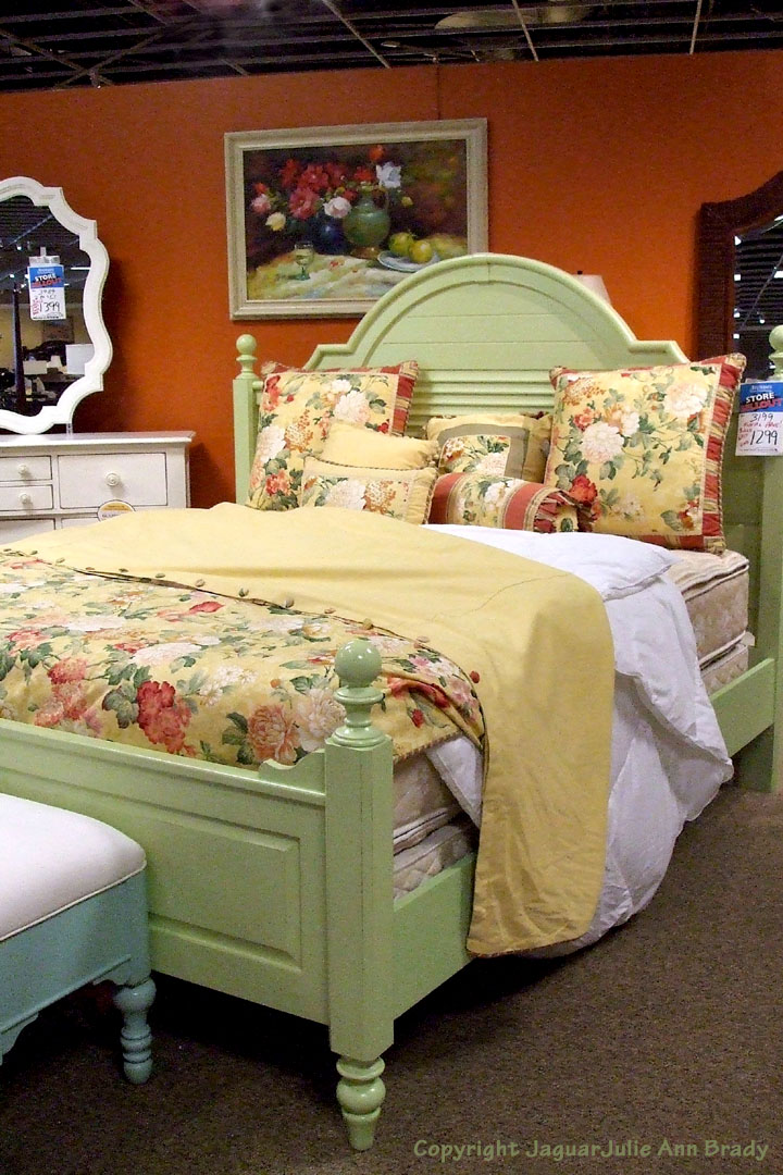 Coastal Living Cottage Collection Summerhouse King Size Bed In Sea Gr