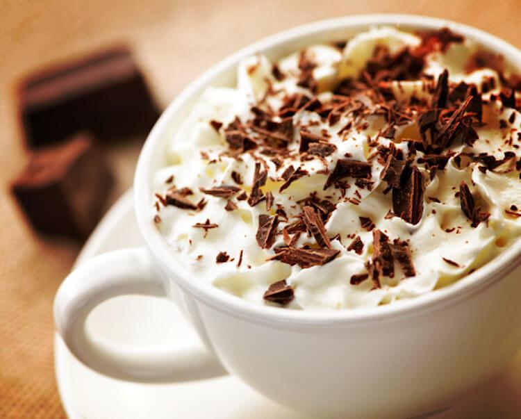Recetas de café, café capuchino Moka