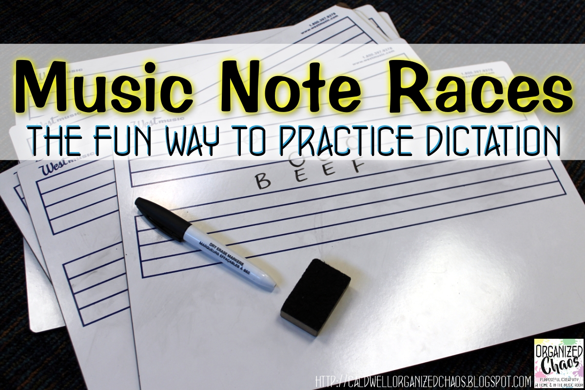 Music Note Races The Fun Way To Practice Dictation