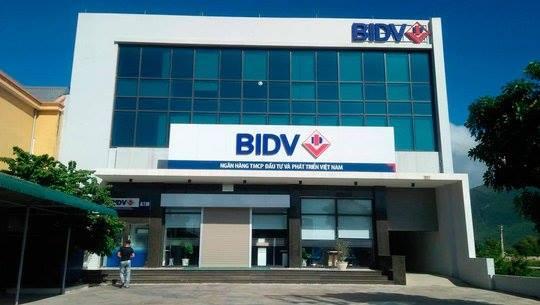 Phòng giao dịch BIDV Hòn La