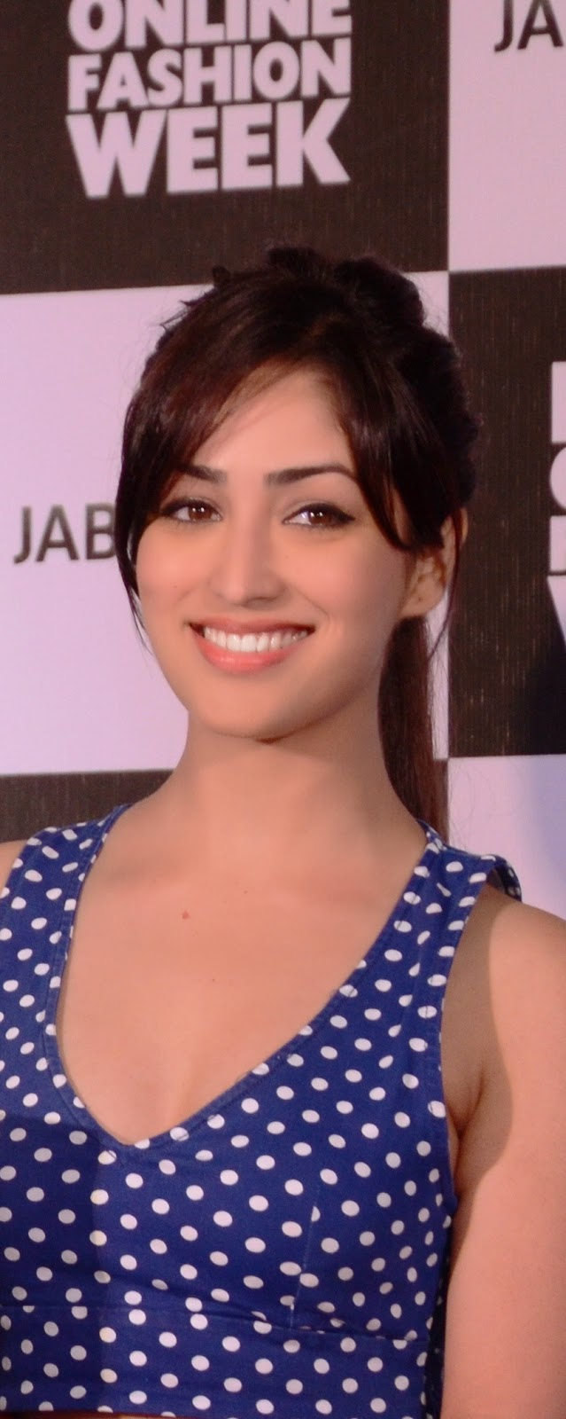 Tete-a-Tete With Yami Gautam For Jabong Online India Fashion Week