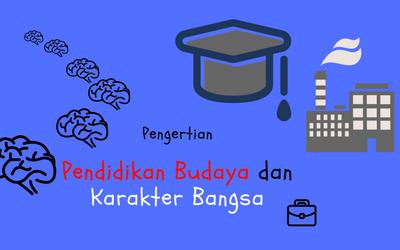 Pengertian Pendidikan Budaya dan Karakter Bangsa