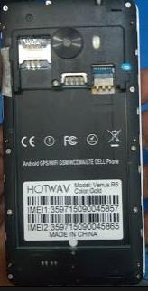 Hotwav venus R6 Flash File