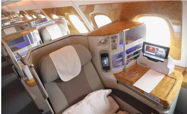 See inside Real Madrid?s luxury jet with beds, showers and over 2000 TV Channels