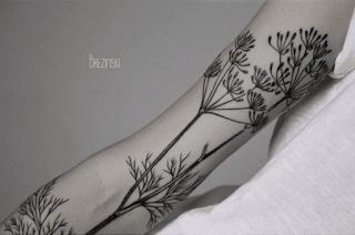 укроп татуировка фото
