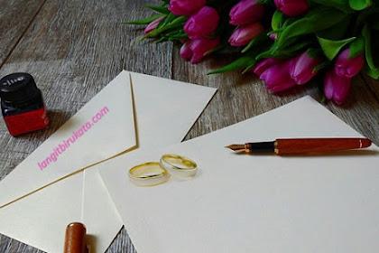 Kutipan Romantis Bahasa Inggris untuk Undangan Pernikahan