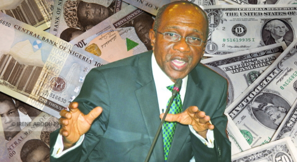 cbn sells dollar to strengthens naira