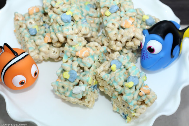 Finding Dory, Finding Dory Snacks, Finding Dory Treat Bars, Finding Dory Desserts, Finding Dory Cereal Bars