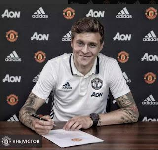 Lindelof joins Manchester United