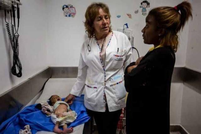 Murió otro niño desnutrido en el Domingo Luciani