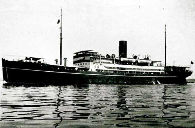SS Shuntien, sunk on 23 December 1941 worldwartwo.filminspector.com