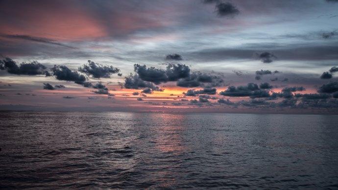 Wallpaper: Sunset from Palma de Mallorca