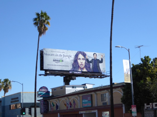 Mozart in Jungle season 2 billboard