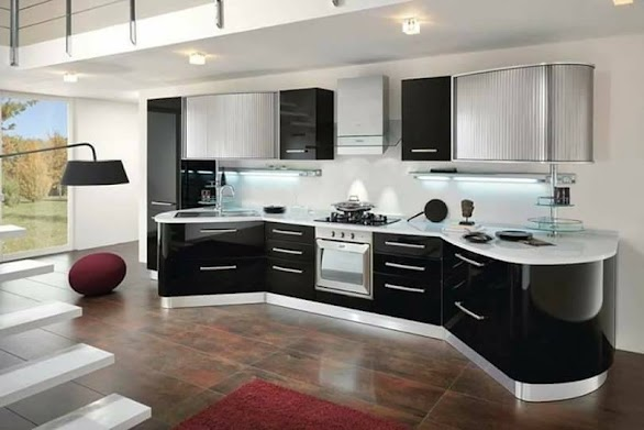 Desain Dapur Modern Mewah Elegant