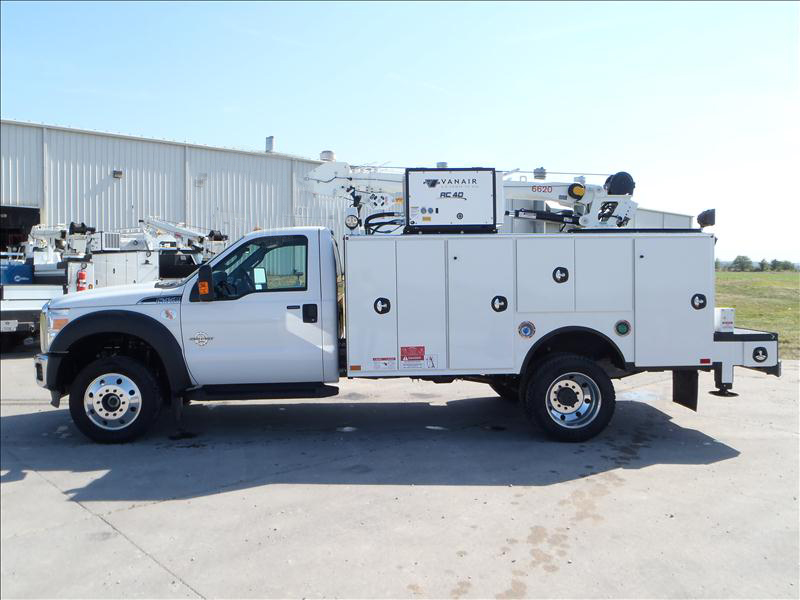 Commercial Vehicles For Sale In Northern California: Corning Ford Commercial Inventory: 2012 Ford F-550 Service