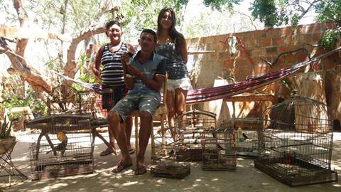 Em Pão de Açúcar,  artesão e família dão exemplo e devolvem a liberdade a animais silvestre