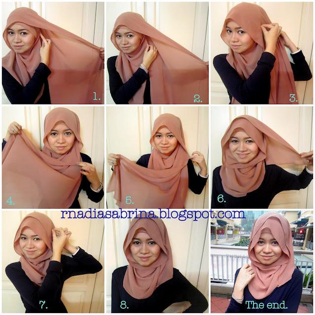 Tutorial Hijab Terbaru Tutorial Hijab Pesta