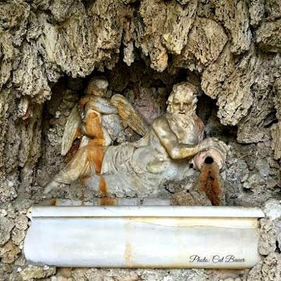 Grotto at Villa Barbaro - Photo by Cat Bauer