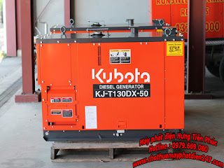 máy phát điện công nghiệp Kubota