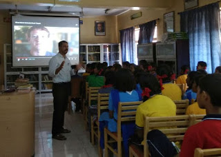 Hour of Code at KV Kanjikode